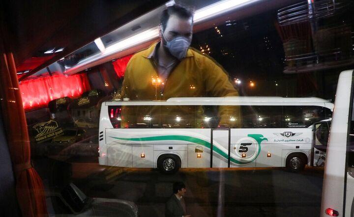 ناوگان حمل و نقل عمومی خلاف مصوبات ستاد ملی کرونا حرکت میکند
