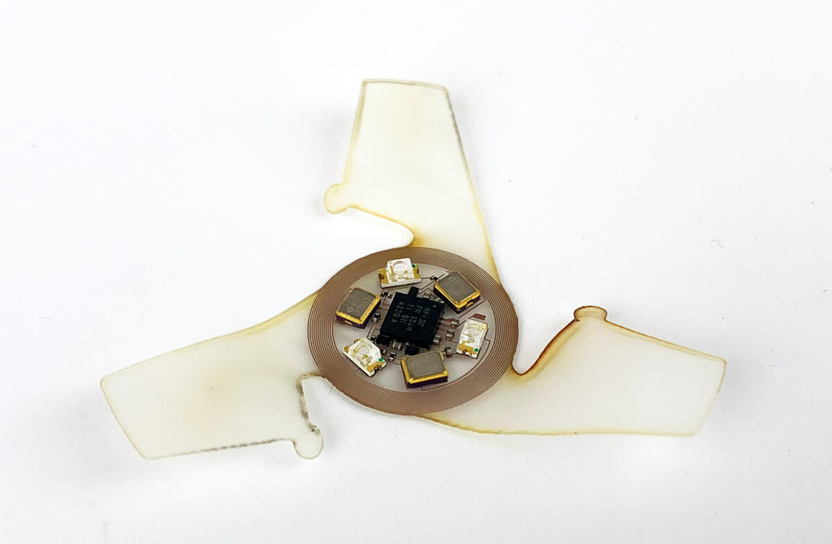 رونمایی از مینیمال ترین سازه هوشمند پرنده برای نظارت بر آلودگی هوا