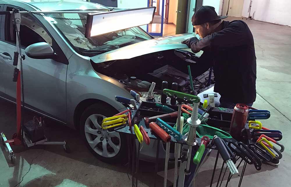 خودروهای تصادفی به سختی شناسایی می شوند| صافکاری از سنتی تا مدرن