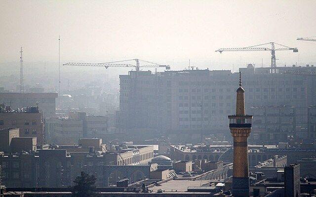 خراسان رضوی در محاصره ریزگردها   تاثیر آلودگی بر کشاورزی نامطلوب است