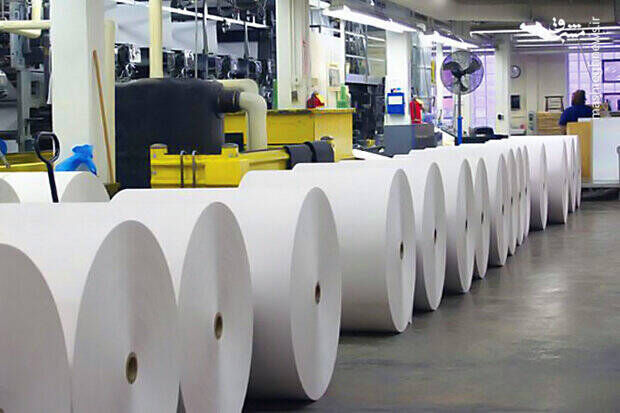 واردات بیش از ۷۷ هزار تن کاغذ تحریر