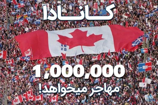کانادا یک میلیون مهاجر میخواهد!