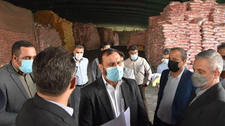 صدور دستور ترخیص فوری ۱۶ هزار تن برنج وارداتی از بندر شهید رجایی بندرعباس