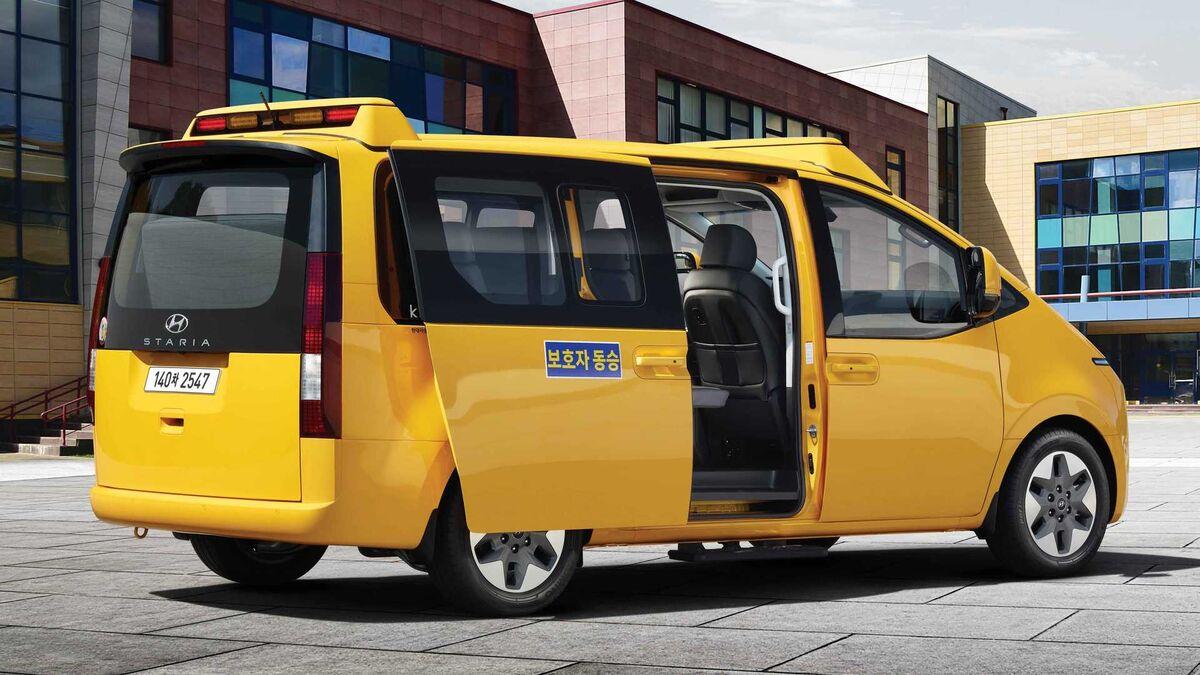 استاریا کیندر ایمن ترین اتوبوس مدرسه جهان شد