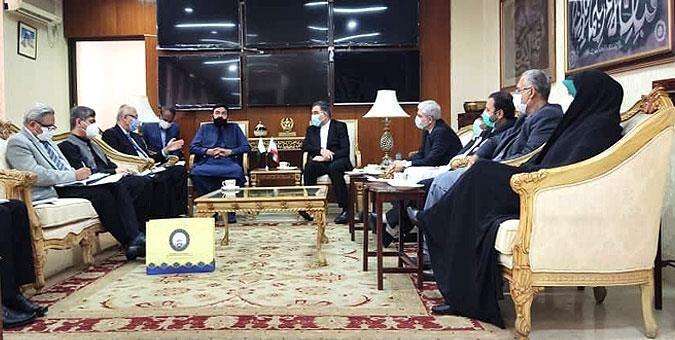 تاکید بر گشایش بازارچههای مرزی بین ایران و پاکستان