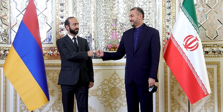 توسعه روابط ایران_ارمنستان؛ تکمیل جاده ترانزیتی برای دور زدن آذربایجان| نقش مهم تهران در قفقاز جنوبی