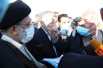 گفتگوی صمیمی کشاورزان پارس آبادی با رئیس جمهور